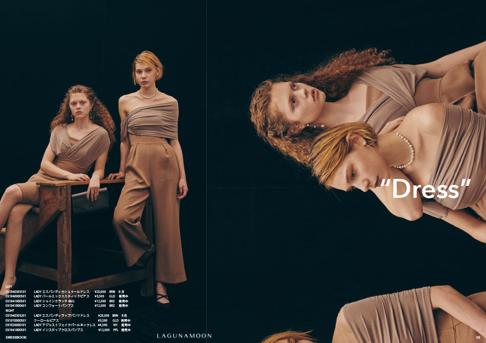 DRESS BOOK|2019 AUTUMN & WINTER COLLECTION2