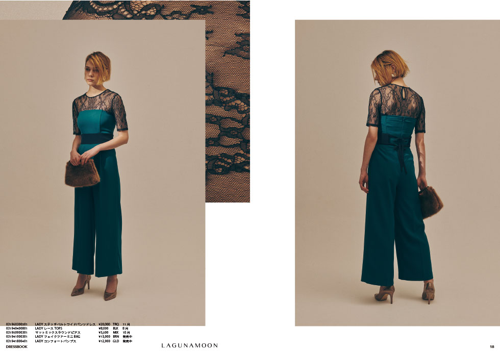 DRESS BOOK|2019 AUTUMN & WINTER COLLECTION10