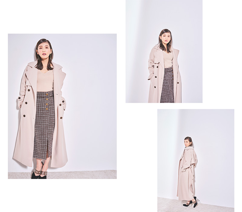Honokaさん着用!2020 Winter Collection vol.27