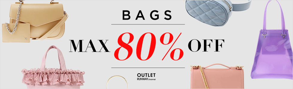 RUNWAY channel OUTLET BAGS MAX80%OFF